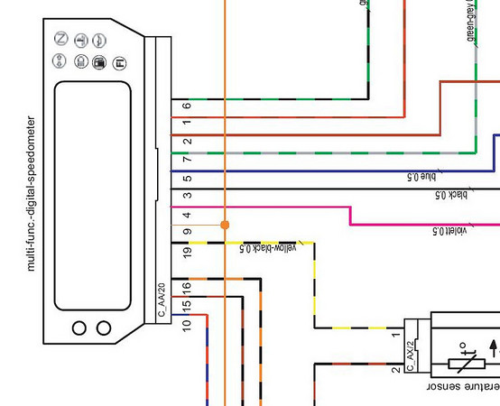 Tripmaster Switch On An Se Adventure Rider - Wiring Diagram